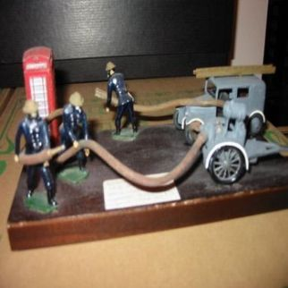 Firefighting Models and Dioramas